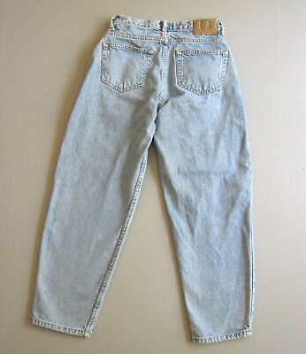 Mens Gap Baggy Jeans Light Wash Blue 90s Vintage Tag 29 measure 26