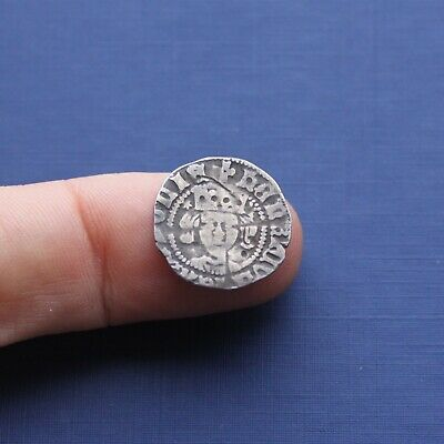 Hammered Silver Coin Henry 5th Penny York Mint c 1413 AD