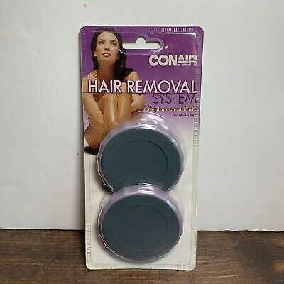 Conair Hair Removal System HBRP08 2 Replacement Pads Models HB1 NEW