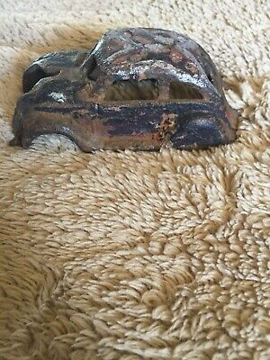 Antique Cast Iron Toy Car 1934 Chrysler Split Window Shell