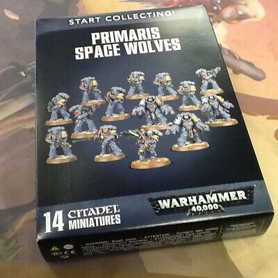 40k Warhammer Primaris Space Wolves Start Collecting NIB