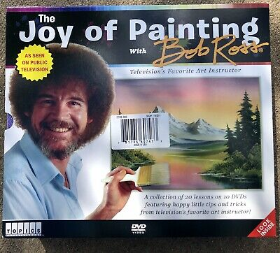 The Joy of Painting Bob Ross Collectors Edition 10 DVD / 20 Lessons Boxed Set