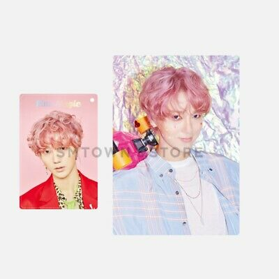 SM TOWN SJ Yesung 3rd Mini Album [PINK Magic] Official Hologram Card Holder Set