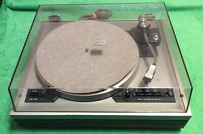 GARRARD MODEL DD-75 DIRECT DRIVE TURNTABLE 33*45 Works