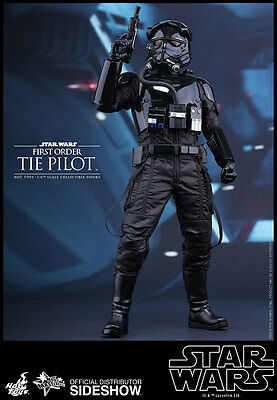 1/6 Star Wars First Order TIE Pilot Movie Masterpiece by Hot Toys 902555 MMS324