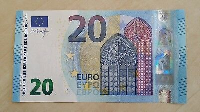 EUROPEAN UNION 20 Euro 2015 Germany X P22 Draghi UNC Banknote