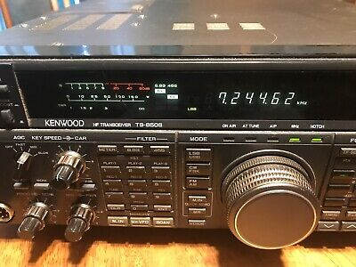 WORKING KENWOOD TS-850S w/auto tuner + Inrad 103 CW filter - $550 00