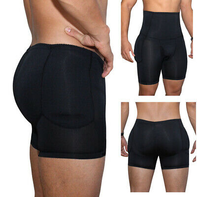Men Shapewear Underwear Boxer Padded Butt Booster Enhancer Boyshort Slim