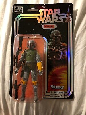 "SDCC 2019 Hasbro Star Wars Exclusive Black Series Boba Fett 6"" Figure In Hand"