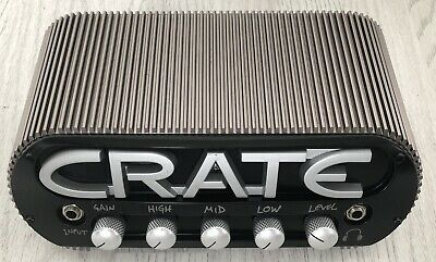 Crate Power Block Compact Stereo 150 Watts Guitar Amplifier Head With Bag
