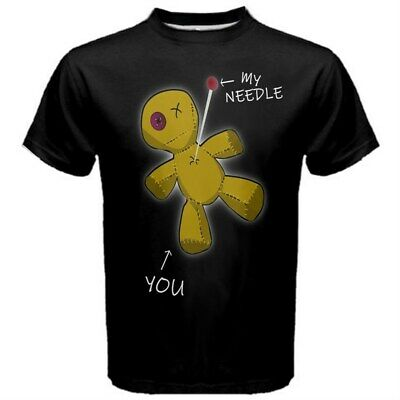 Funny Voodoo Doll Witchcraft Witch Pagan Wicca Black Magic T-shirt VOO