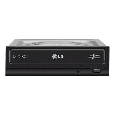 LG GH24NSD1 24X SATA Internal DVD CD RW Burner Writer Optical Drive OEM Pack