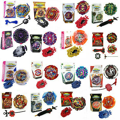 Rare Beyblade BURST GT Starter With Launcher Kit Set Bay Blade Spinning Toy Gift