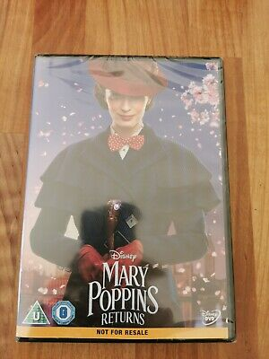 Mary Poppins Returns DVD. New and sealed.