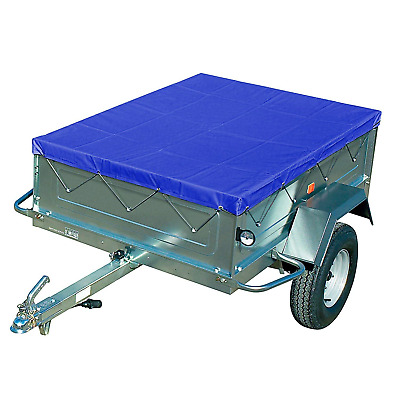 Fixkit Trailer Tarpaulin with Rubber Strap for Car Trailers 2090 x 135 x 50 mm
