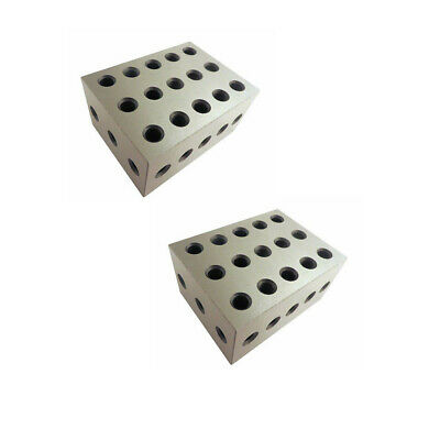 2x3x4 Precision Milling Block Drilling Machining Precision Block 2 Pc