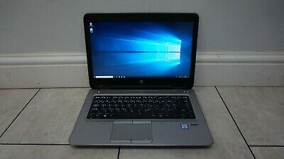 "HP ProBook 640 G2 14"" Laptop, Intel Core i5 @ 2.4GHz, 500GB HDD, 8GB RAM, WiFi"