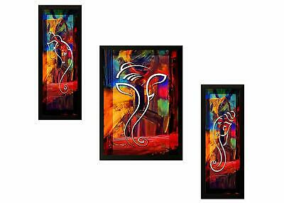 Ganesh God Painting Decorative Wall Hanging Art Indian Artistic God