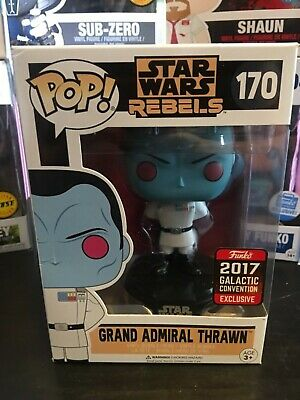 Funko Pop Grand Admiral Thrawn 170 Galactic Convention 2017 New!