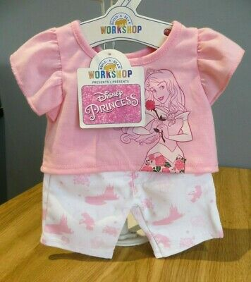 Build A Bear clothes outfit pink Disney Princess Aurora Sleeping Beauty BNWT
