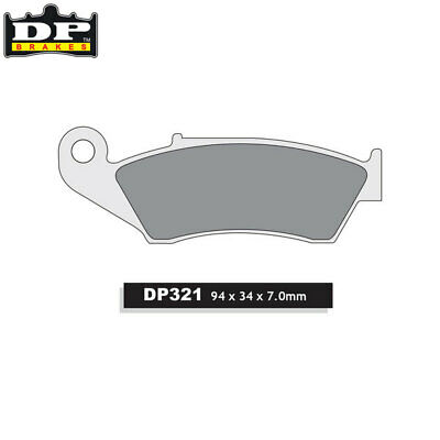 DP Sintered Off-Road/ATV Front Brake Pads DP321 Honda CRF 250 R 2004-2019