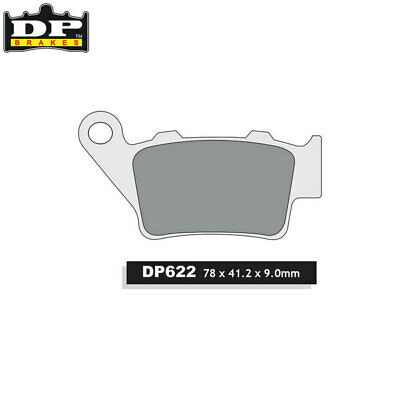 DP Sintered Off-Road Rear Brake Pads DP622 Husaberg FE 450 E Enduro 2004-2008