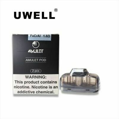 Genuine Uwell Amulet 1.6ohm Replacement Pods - UK STOCK