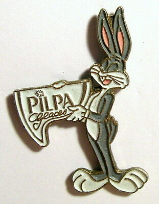 Pin's Bugs Bunny Bug Bunny l'auto stoppeur Strips