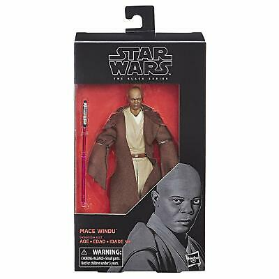 Star Wars Black Series Mace Windu 6 inch Action Figure Hasbro