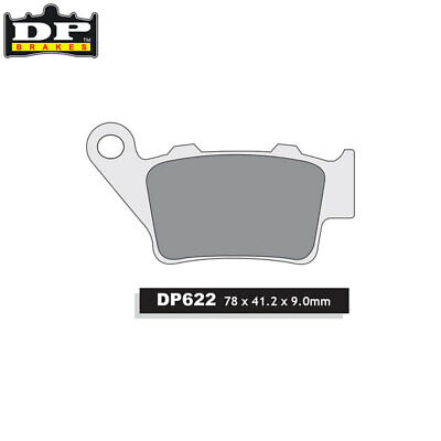 DP Sintered Off-Road/ATV Rear Brake Pads DP622 Husaberg FC 450 Cross 2004-2006
