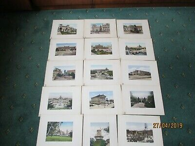 15 Rare Antique early post card prints photos of Berlin Potsdam Germany 1900s?