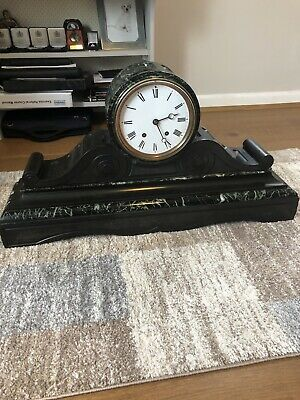 19th Century French Mantel Clock Jean Baptiste Delettrez
