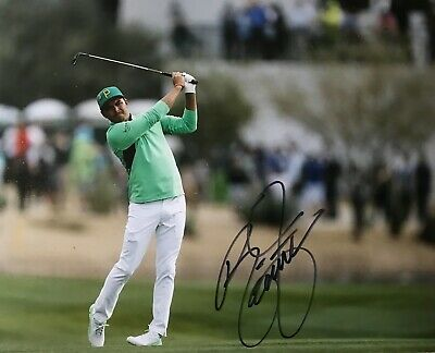 Rickie Fowler signed 10x8 photo Image A UACC dealer AFTAL Approved RACC Trusted