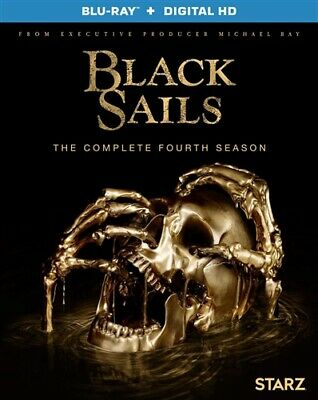 BLACK SAILS COMPLETE FOURTH SEASON 4 New Sealed Blu-ray