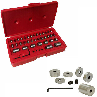 Case 36 Pieces 57-60 HRC Accuracy Hardened Steel Round Gage Space Blocks Gages