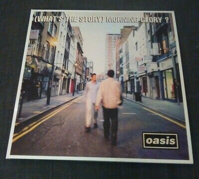 """Oasis - Whats The Story Morning Glory - Reissue Double 12"""" Vinyl Lp Set"""