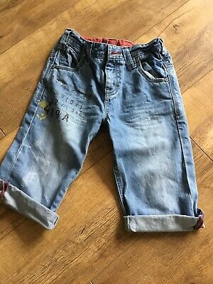 Boys Next Denim Shorts Adjustable Waist Age 8 Years