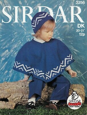 SIRDAR FUNKY FUR & Snuggly DK Pattern 5170 Sweater and