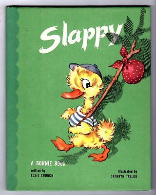 SLAPPY ~ vintage 1946 childrens Bonnie Book ~ many Golden & other kids books!