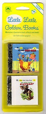 "LITTLE RED HEN, SAGGY BAGGY ~ 1st ""A"" ed. Little Little Golden Books MIP 1988"