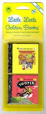 "CURIOUS LITTLE KITTEN, TOOTLE ~ 1st ""A"" ed. Little Little Golden Books MIP 1988"