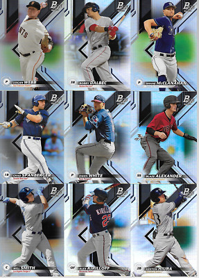2019 Bowman Platinum Top Prospects & Base Ice & Singles & Inserts***You Pick***