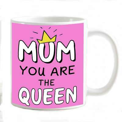 Tazza Mug festa della Mamma Mum Personalizzabile Mum you are the Queen