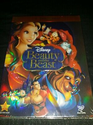 Beauty and the Beast (DVD, 2010, 2-Disc Set, Diamond Edition) New & Sealed