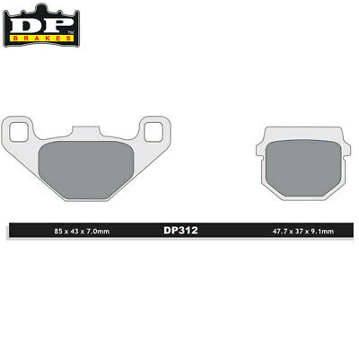 DP Sintered Off-Road/ATV Front Brake Pads DP312 Masai A 450 2006-2009