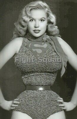 Picture Photo Erotic vintage art amazing pin-up big breasts Betty Brosmer 3402