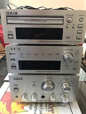 Teac Ah-300 Mkii Stereo System Integrated Amplifier Cd Player & Dab Tuner