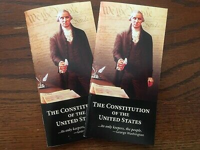 Two Constitution of the United States of America Pocket Sized WE THE PEOPLE
