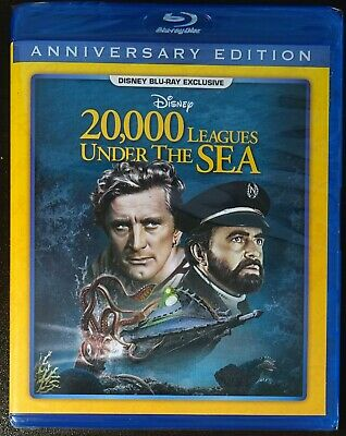 20,000 Leagues Under the Sea Blu-ray *RARE* DMC Disney Movie Club Exclusive NEW