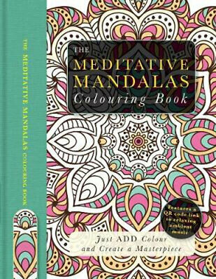 NEW The Meditative Mandalas Colouring Book By Beverley Lawson Paperback